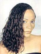 Micro braids - Brunette, Kinky hair, Long hair styles, Styles, Female, Black hair, Adult hair, Micro braids Hairstyle Picture