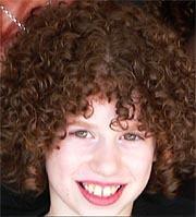 Curly Kid - Brunette, 3b, 3c, Short hair styles, Kids hair, Readers, Styles, Curly hair Hairstyle Picture