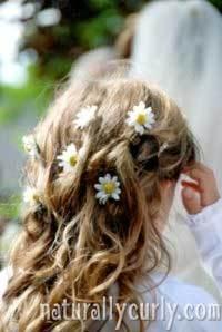 Wedding Hair - Blonde, Wavy hair, Kids hair, Long hair styles, Wedding hairstyles, Styles, Female Hairstyle Picture