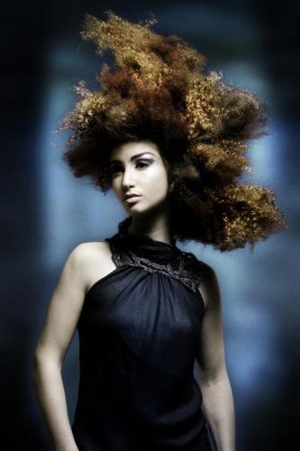 Dimitrios Tsioumas  - Redhead, 3b, 3c, Medium hair styles, Long hair styles, Styles, Female, Curly hair Hairstyle Picture