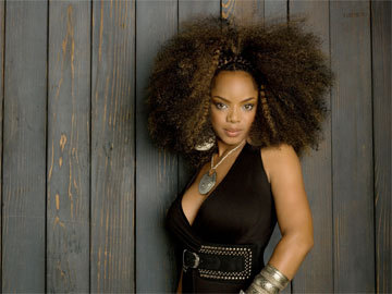 Leela James - Brunette, 4a, Celebrities, Kinky hair, Long hair styles, Afro, Styles, Female, Adult hair Hairstyle Picture