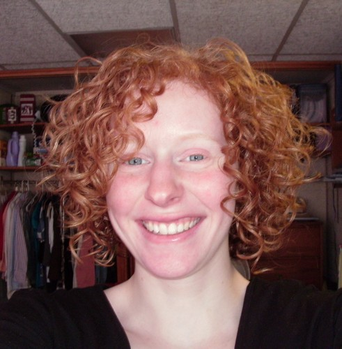 Red, curly, and beautiful! - Redhead, 3a, Short hair styles, Readers, Female, Curly hair Hairstyle Picture