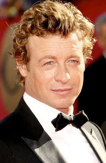 Simon Baker - Celebrities, Male, Short hair styles, Curly hair, 2009 Emmy Awards Hairstyle Picture