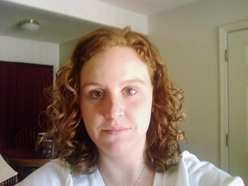 This is me with curly hair - Redhead, 3a, Wavy hair, Medium hair styles, Readers, Female Hairstyle Picture