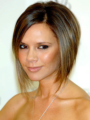 Victoria Beckham - Brunette, Celebrities, Short hair styles, Styles, Female, Adult hair, Straight hair, Bob hairstyles Hairstyle Picture