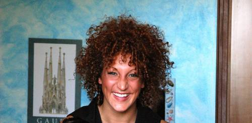 Me, Myself and My Curls! - Brunette, Medium hair styles, Readers, Crazy Curls Contest, Female, Curly hair Hairstyle Picture