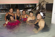 Naturals in the pool at the Curl