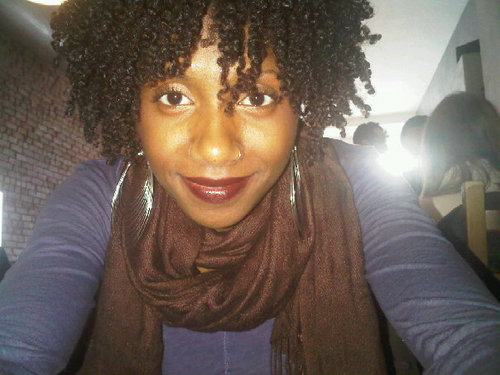 Twist OUT - 4a, 4b, Short hair styles, Kinky hair, Styles, Female, Black hair, Twist out Hairstyle Picture