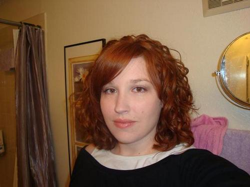 Mims :) - Redhead, 3a, Medium hair styles, Readers, Female, Curly hair Hairstyle Picture