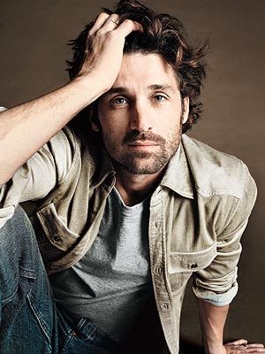 Patrick Dempsey - Brunette, 3a, Celebrities, Wavy hair, Male, Short hair styles, Curly hair Hairstyle Picture
