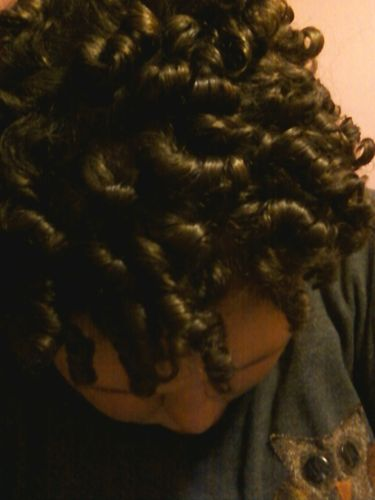 Spiral curls are pretty - Brunette, 3b, Female, Adult hair Hairstyle Picture