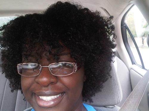 Wash N Go Day 4 - Brunette, Short hair styles, Medium hair styles, Readers, Female, Curly hair, Black hair, Adult hair Hairstyle Picture