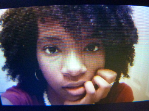 Just Let it Out! - Medium hair styles, Afro, Readers, Female, Teen hair, Black hair Hairstyle Picture