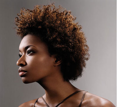 Natural - Brunette, 3c, 4a, Short hair styles, Kinky hair, Styles, Female Hairstyle Picture