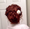 Twisted Updo (back view)