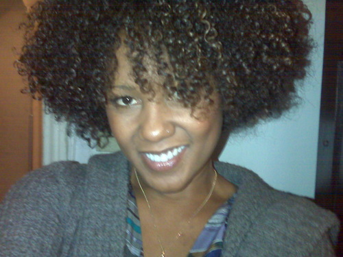 Loving my curls - Brunette, 3c, 4a, Short hair styles, Afro, Readers, Styles, Female, Curly hair Hairstyle Picture