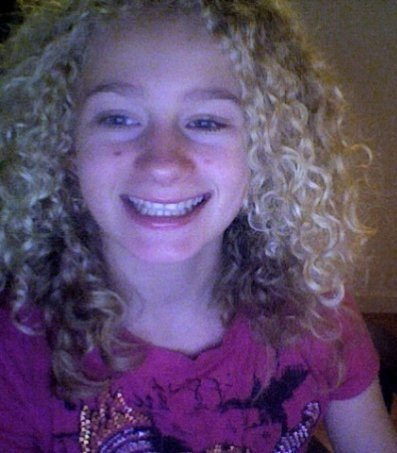 Erika's curls :) - Blonde, 3b, Kids hair, Readers, Curly hair, Teen hair Hairstyle Picture