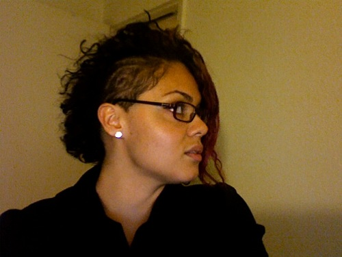 BUZZED - Brunette, 3b, Short hair styles, Readers, Curly hair, Teen hair Hairstyle Picture