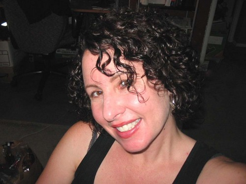 Went Shorter - Brunette, 3a, Short hair styles, Readers, Female, Curly hair Hairstyle Picture