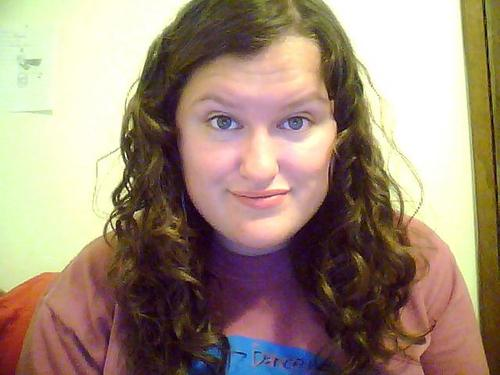 Medium, brown, curly. :) - Brunette, 2b, 3a, Medium hair styles, Readers, Female, Curly hair Hairstyle Picture