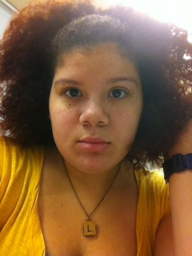 air dry - Brunette, 3c, Medium hair styles, Updos, Readers, Female, Teen hair, Teeny weeny afro, Scene hair Hairstyle Picture