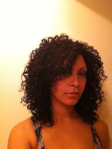 styling 3b curly hair layered bouncy curls by cherry blossom 5809