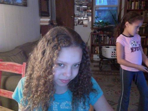 Soft curls - Redhead, Brunette, Blonde, 3a, Medium hair styles, Kids hair, Readers, Female, Teen hair, Spiral curls, Natural Hair Celebration Hairstyle Picture