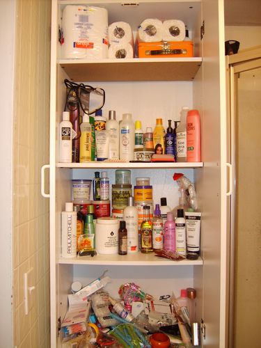My Closet Babies - 4b, Female, Show Us Your Bathroom Cabinet Contest Hairstyle Picture