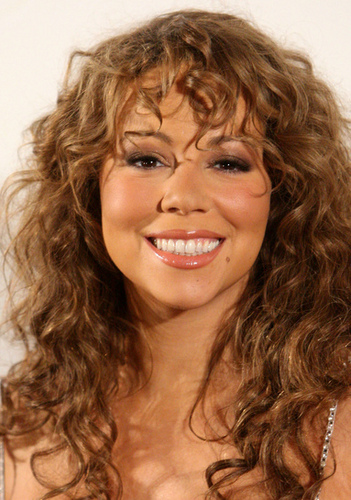 Mariah Carey - Brunette, Blonde, Celebrities, Long hair styles, Female, Curly hair Hairstyle Picture