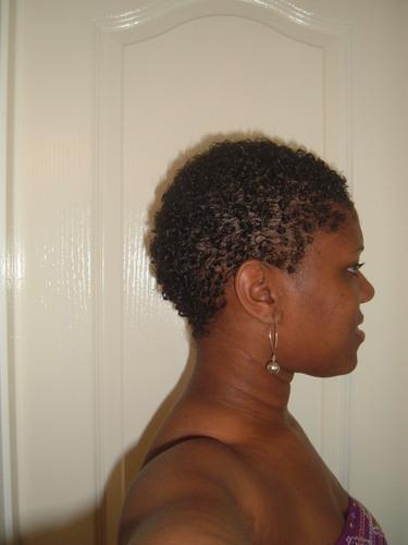 Teeny Weeny Afro - Brunette, 4a, Very short hair styles, Kinky hair, Readers, Female, Black hair, Adult hair, Teeny weeny afro Hairstyle Picture