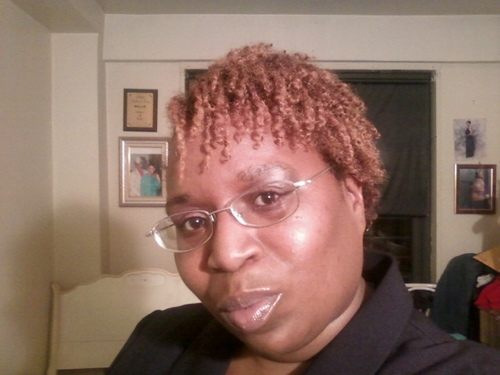 sunday getting ready for church - Redhead, Short hair styles, Readers, Female, Adult hair, Twist out, Curly kinky hair Hairstyle Picture