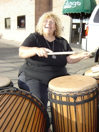 Crazy Drummer - Blonde, Medium hair styles, Readers, Crazy Curls Contest, Female, Curly hair Hairstyle Picture