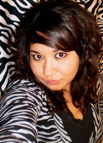 Julz' Scene Hair - Brunette, 3a, Long hair styles, Styles, Female, Curly hair, Scene hair, Emo hair Hairstyle Picture