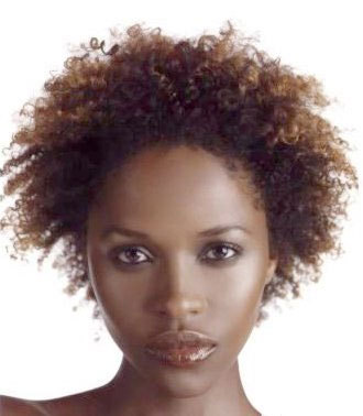 Aisha Cain - Brunette, Celebrities, Short hair styles, Kinky hair, Female, Black hair, Adult hair, Coil out Hairstyle Picture