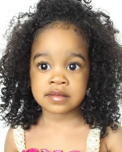 Taylor Dior - Brunette, 3c, Celebrities, Medium hair styles, Kids hair, Curly hair, Black hair Hairstyle Picture