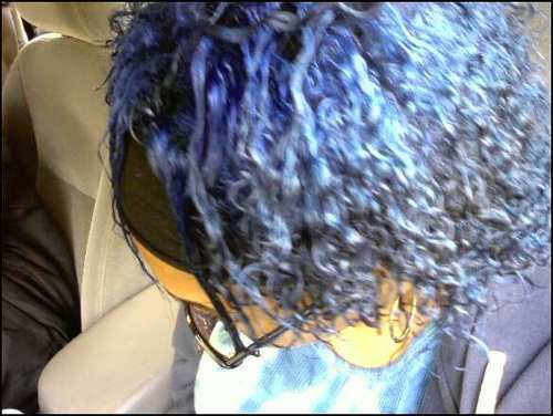 blue and bad - Short hair styles, Kinky hair, Readers Hairstyle Picture
