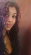 Long Purple Curly Hair