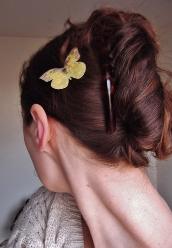 peacock french twist - Brunette, 2b, Long hair styles, Twist hairstyles, Readers, Teen hair, Adult hair Hairstyle Picture