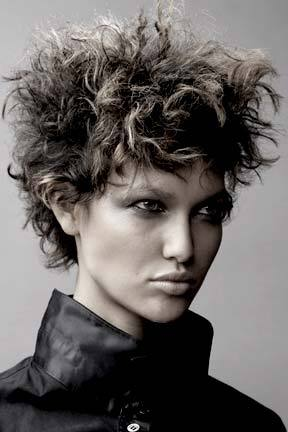 From Nick Arrojo - Short hair styles, Styles, Female, Curly hair Hairstyle Picture