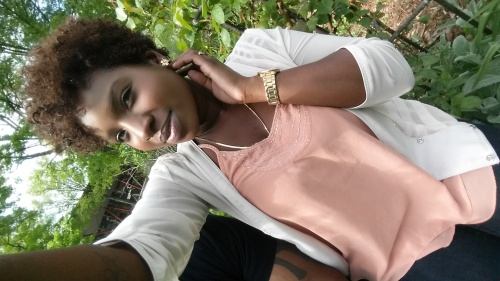 my Sassy TWA - 3b, 3c, Curly kinky hair Hairstyle Picture