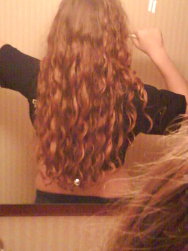 hair - 2 years ago, - Redhead, 3a, Long hair styles, Readers, Female, Curly hair, Adult hair Hairstyle Picture