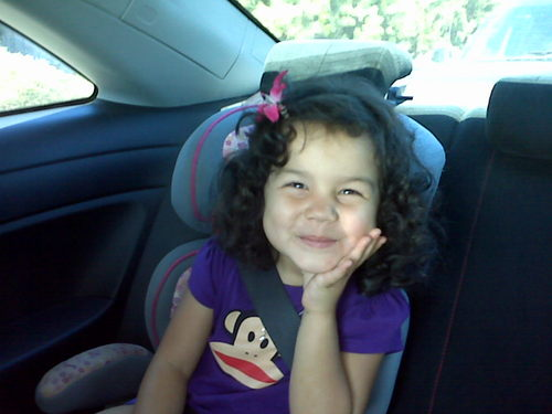 Gabby on the go! - Brunette, 2b, Short hair styles, Kids hair, Crazy Curls Contest, Curly hair Hairstyle Picture