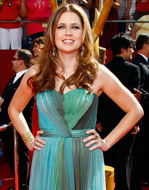 Jenna Fischer - Redhead, Blonde, Celebrities, Wavy hair, Long hair styles Hairstyle Picture