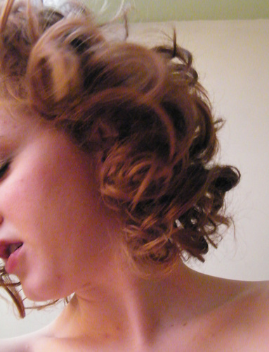 Summer curl fling! - Redhead, 3a, Short hair styles, Summer hair, Readers, Female, Curly hair Hairstyle Picture
