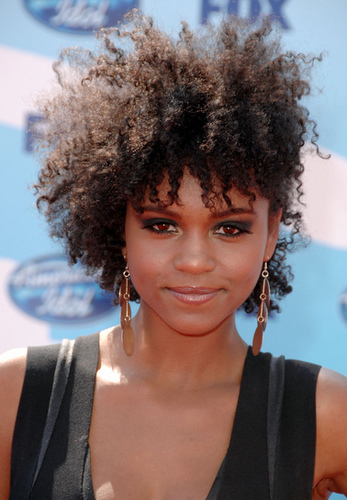 Syesha Mercado - Celebrities, Short hair styles, Medium hair styles, Kinky hair, Female, Black hair, Twist out Hairstyle Picture
