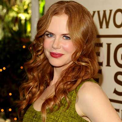 Nicole Kidman - Redhead, Celebrities, Long hair styles, Female, Curly hair Hairstyle Picture