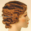 Curly Hair Style: Finger waves