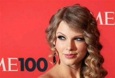 Taylor Swift - Blonde, Celebrities, Long hair styles, Female, Curly hair, Adult hair Hairstyle Picture
