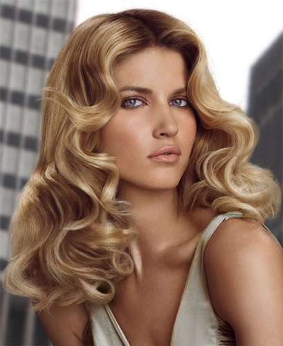 Redken - Blonde, 2b, Wavy hair, Medium hair styles, Styles, Female, 2c Hairstyle Picture