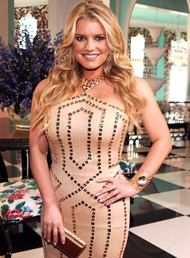 Jessica Simpson - Blonde, Celebrities, Wavy hair, Long hair styles, Female, Curly hair Hairstyle Picture